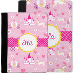 Princess Carriage Notebook Padfolio w/ Name or Text