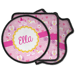 Princess Carriage Iron on Patches (Personalized)