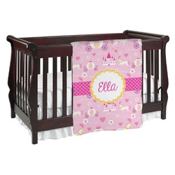 Princess Carriage Baby Blanket (Personalized)