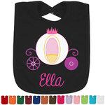 Princess Carriage Bib - Select Color (Personalized)