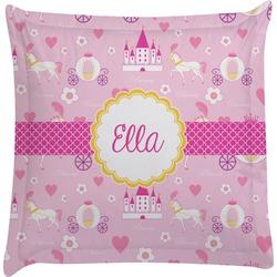 Princess Carriage Euro Sham Pillow Case (Personalized)