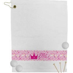 Princess Carriage Golf Towel (Personalized)