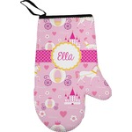 Princess Carriage Right Oven Mitt (Personalized)