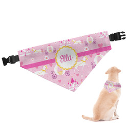 Princess Carriage Dog Bandana - Large (Personalized)