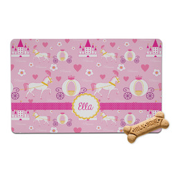 Princess Carriage Pet Bowl Mat (Personalized)