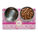 Princess Carriage Dog Food Mat (Personalized)