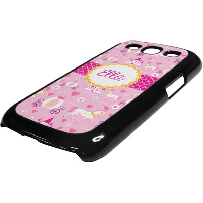 Princess Carriage Plastic Samsung Galaxy 3 Phone Case (Personalized)
