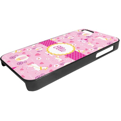 Princess Carriage Plastic iPhone 5/5S Phone Case (Personalized)