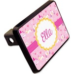 """Princess Carriage Rectangular Trailer Hitch Cover - 2"""" (Personalized)"""