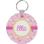 Princess Carriage Round Keychain (Personalized)