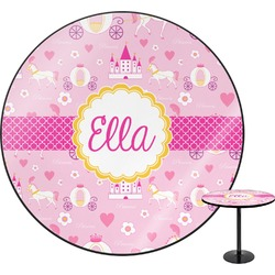 Princess Carriage Round Table (Personalized)