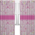 Princess Carriage Sheer Curtains (Personalized)