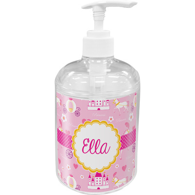 Princess Carriage Acrylic Soap & Lotion Bottle (Personalized)