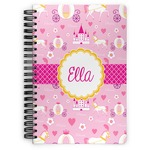 Princess Carriage Spiral Bound Notebook (Personalized)