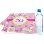 Princess Carriage Sports & Fitness Towel (Personalized)