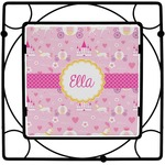 Princess Carriage Square Trivet (Personalized)