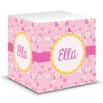 Princess Carriage Sticky Note Cube (Personalized)