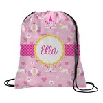Princess Carriage Drawstring Backpack (Personalized)