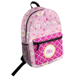 Princess Carriage Student Backpack (Personalized)