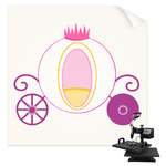 Princess Carriage Sublimation Transfer (Personalized)