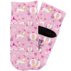 Princess Carriage Toddler Ankle Socks (Personalized)
