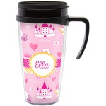 Princess Carriage Travel Mug with Handle (Personalized)