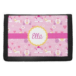 Princess Carriage Trifold Wallet (Personalized)