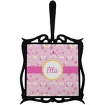 Princess Carriage Trivet with Handle (Personalized)