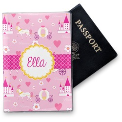 Princess Carriage Vinyl Passport Holder (Personalized)