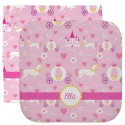 Princess Carriage Facecloth / Wash Cloth (Personalized)