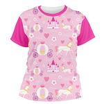 Princess Carriage Women's Crew T-Shirt (Personalized)