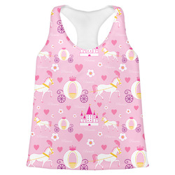 Princess Carriage Womens Racerback Tank Top (Personalized)