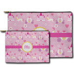 Princess Carriage Zipper Pouch (Personalized)