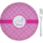 Hashtag Glass Appetizer / Dessert Plates 8