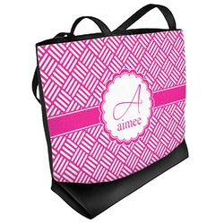 Square Weave Beach Tote Bag (Personalized)