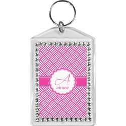 Hashtag Bling Keychain (Personalized)