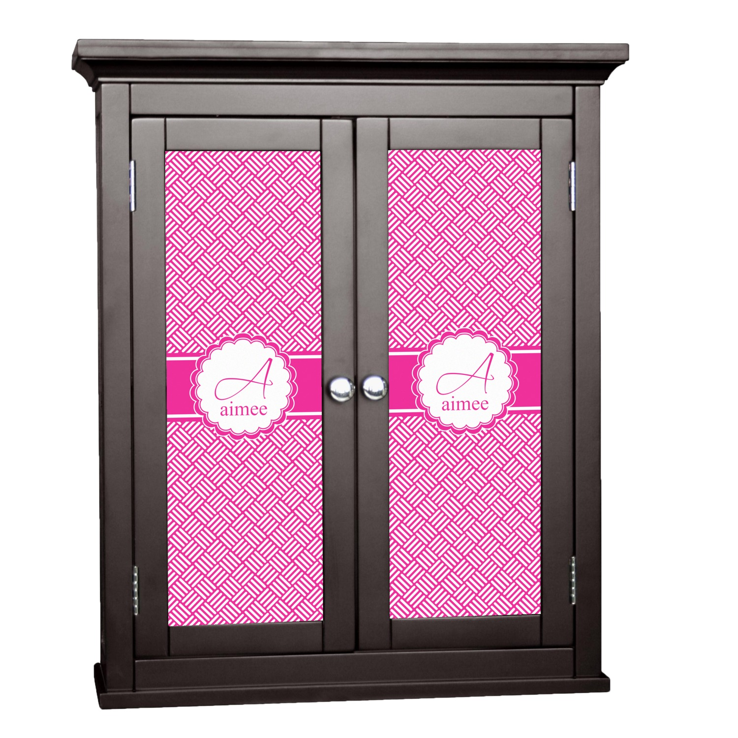 Hashtag cabinet decal custom size personalized for Office design hashtags
