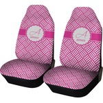 Square Weave Car Seat Covers (Set of Two) (Personalized)