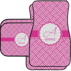 Hashtag Car Floor Mats Set - 2 Front & 2 Back (Personalized)