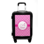 Square Weave Carry On Hard Shell Suitcase (Personalized)