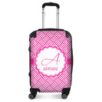 Square Weave Suitcase (Personalized)