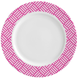 Hashtag Ceramic Dinner Plates (Set of 4) (Personalized)