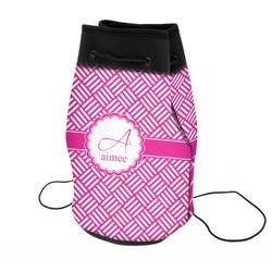 Hashtag Neoprene Drawstring Backpack (Personalized)