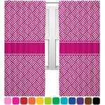 Hashtag Curtains (2 Panels Per Set) (Personalized)