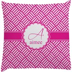 Hashtag Decorative Pillow Case (Personalized)