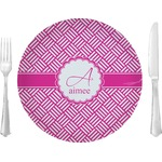Hashtag Glass Lunch / Dinner Plates 10