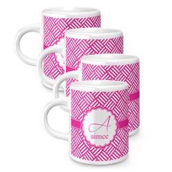 Hashtag Espresso Mugs - Set of 4 (Personalized)