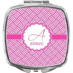 Hashtag Compact Makeup Mirror (Personalized)