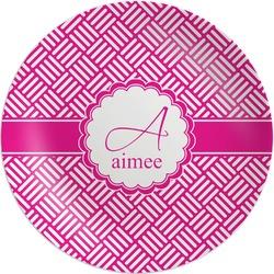 Hashtag Melamine Plate (Personalized)