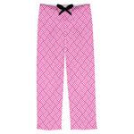 Square Weave Mens Pajama Pants (Personalized)